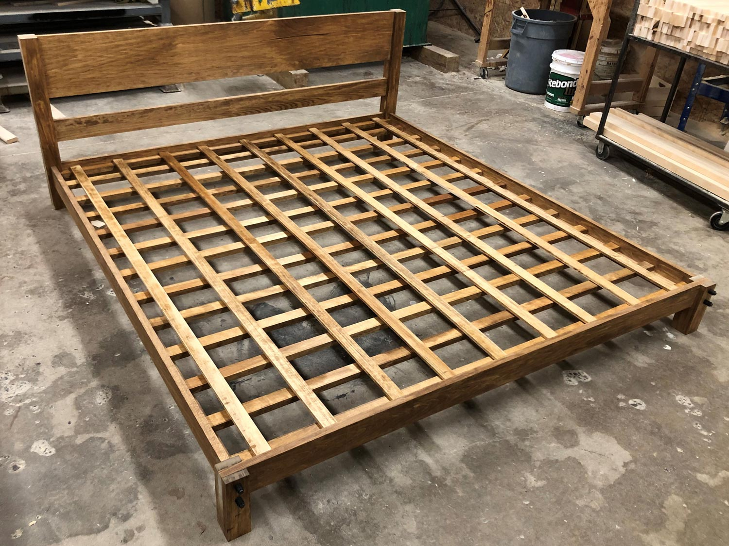 King Low Boy Bed